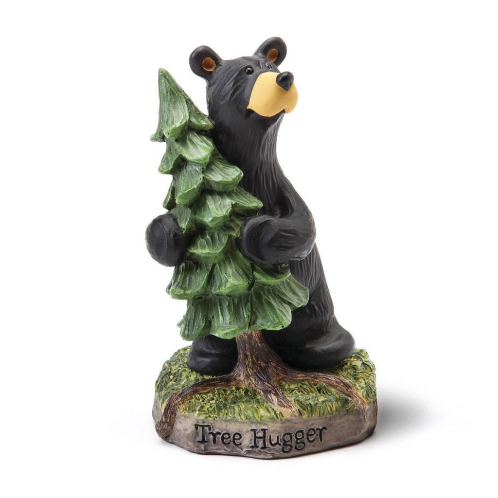 Tree Hugger Bear Figurine