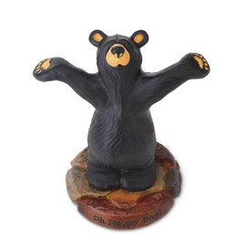 """Oh Happy Day"" Happy Bear Figurine"