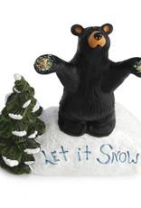 Let It Snow Bear Figurine