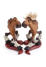 Romeo and Juliet Moose figurine