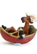 Go With The Flow Moose figurine