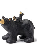 Riding Bearback Bear Figurine