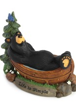 Life Is Simple Bear Figurine