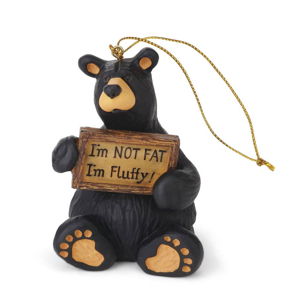 I'm Fluffy Bear Ornament