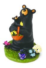 Flower Child Bear Figurine
