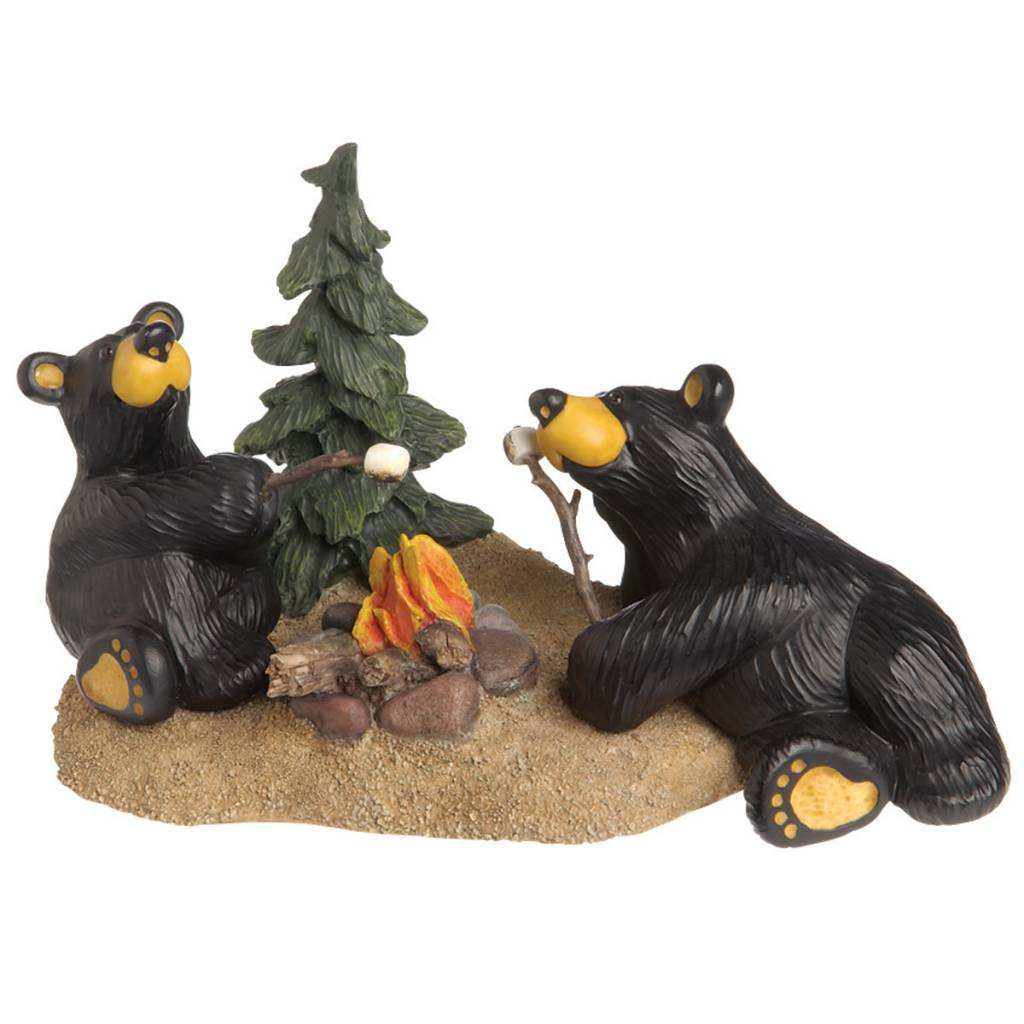 Campfire Memories Bear Figurine