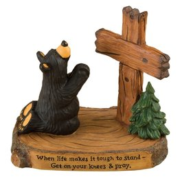 """Pray"" Bears Figurine"
