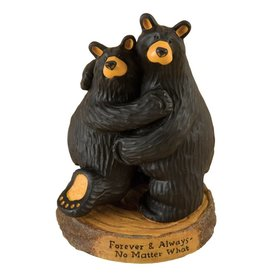"""Forever and Always"" Bears Figurine"