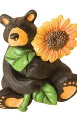 Sunflower Bear Figurine 50248