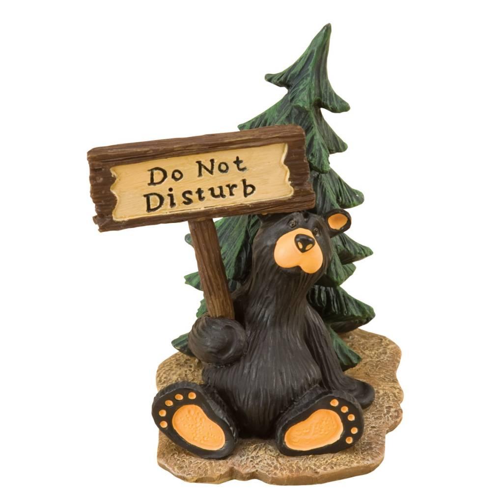 """Disturbed"" Mini Bear Figurine"