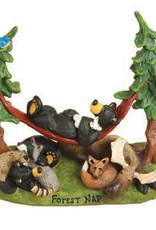 Forest Nap Bears/Forest Animals Figurine