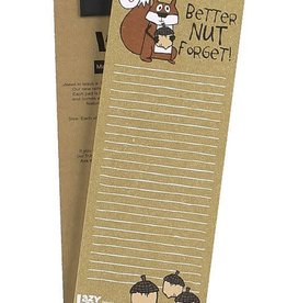 Lazy One Better NUT Forget! Notepad