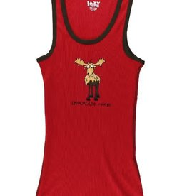 Chocolate Moose Fitted PJ Tank