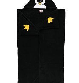 Lazy One Penguin Hooded Blanket