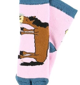 Lazy One Pasture Bedtime Infant Sock