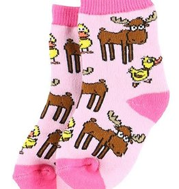 Lazy One Duck Duck Moose Infant Sock