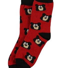 Lazy One Bear Kid Sock