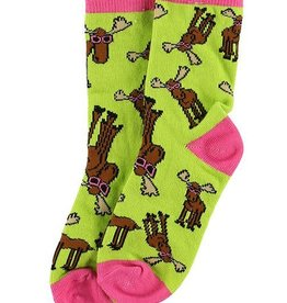 Lazy One Don't Moose Kid Sock