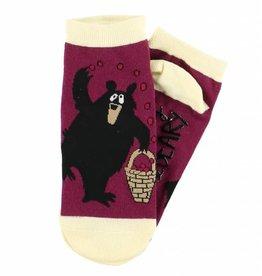 Huckle-Beary Slipper Socks 9-11