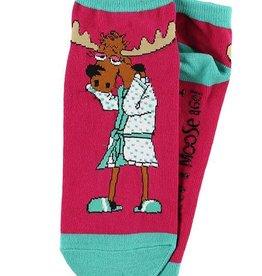 I Need A Mooseage Slipper Socks 9-11