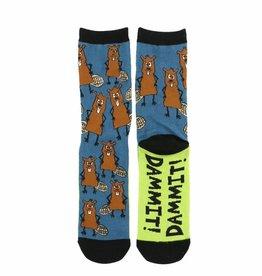 Beaver Crew Socks 9-11