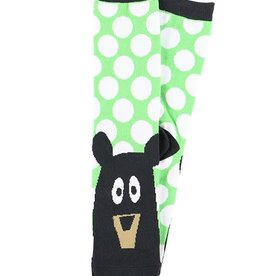 Lazy One Beary Tired Crew Socks 9-11