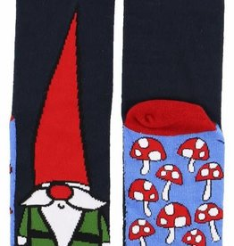 Lazy One Gnome Crew Sock 9-11