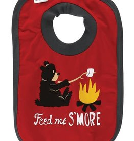 Lazy One Feed Me S'More Bear Bib