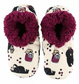 Lazy One Huckle-Berry Fuzzy Feet