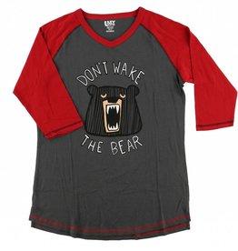 Don't Wake The Bear Tall PJ Tee
