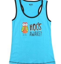Hoo's Awake Women's PJ Tank