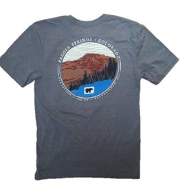 Sure Ground Mtn Bear V2 Tri Blend S/S Tee