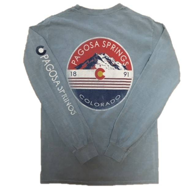 Feared Outlaw Mtns CO Symbol L/S Tee