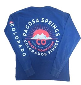 Gone Too Long Sun Mtns Ringspun L/S Tee