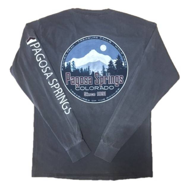 Lakeshirts Reclamation Mtns Ringspun L/S Tee