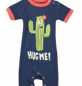 Hug Me! S/S Infant PJ Romper