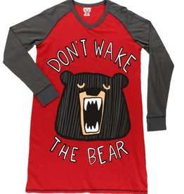 Don't Wake The Bear L/S Nightshirt