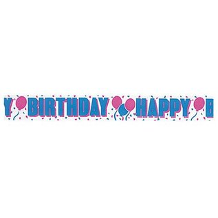 paper crepe streamer happy birthday 1pkg 275x30ft