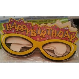 Glasses-Party-Happy Birthday-8pk-Paper