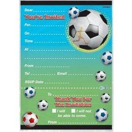 Invitations-Soccer-20pk