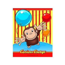Loot Bags-Curious George-8pk