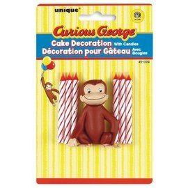 Candles-Curious George-6pk