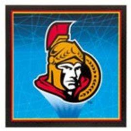 Napkins-LN-NHL-Ottawa Senators-16pk-2ply