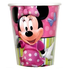 Cups-Minnie Mouse-Paper-9oz-8pk