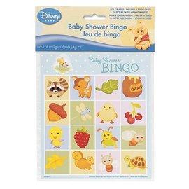 Bingo Game-Baby Shower-Winnie-8pk