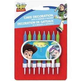 Candles-Toy Story-8pk (Discontinued)
