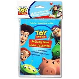 Activity book-Toy Story-4pk
