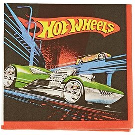 Napkins-BEV-Hot Wheels-16pk-2ply - Discontinued