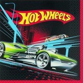 Napkins-LN-Hot Wheels-16pk-2ply - Discontinued