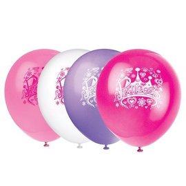 Balloons-Latex-Princess-8pk